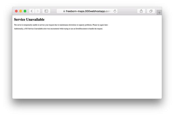 wordpress 503 hatası ve çözümü